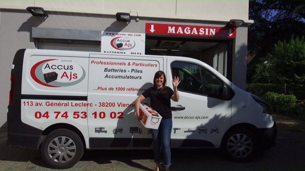 Accus AJS : magasin de piles Givors